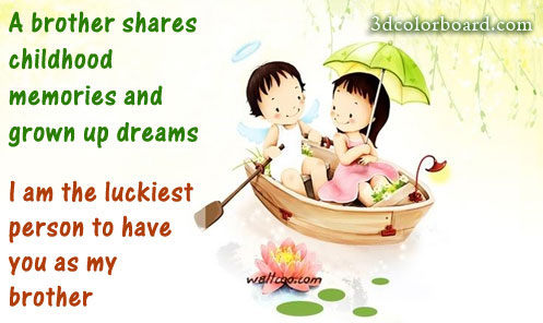 Wishes with Brothers Graphics, Brothers Greetings, Brothers Images, Brothers Photos and Pictures for Orkut, Facebook, other Social Network Websites.