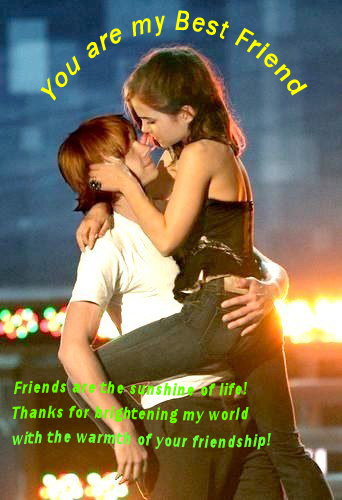 Wishes with Best Friend Greetings for Orkut, Facebook, other Social Network Websites.