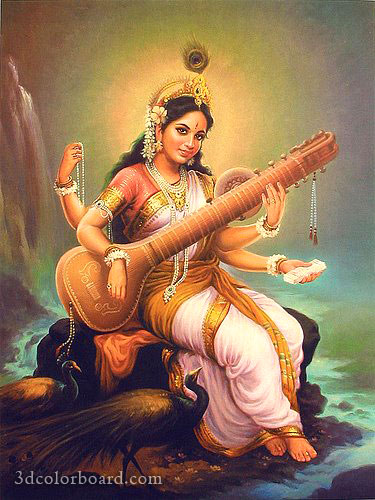 Wishes with Saraswati Puja Graphics, Saraswati Puja Greetings, Saraswati Puja Images, Saraswati Puja Photos and Pictures for Orkut, Facebook, other Social Network Websites.